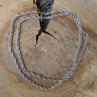 Silberkette ohne Verschluss